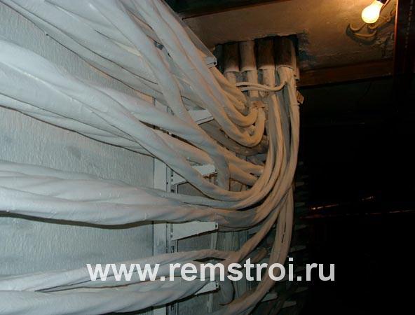Normálna požiarna ochrana kábla